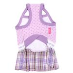 View Image 2 of Dainty Dog Dress by Pinkaholic - Violet