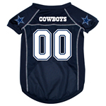 View Image 1 of Dallas Cowboys Dog Jersey