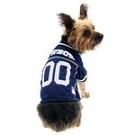 View Image 1 of Dallas Cowboys Officially Licensed Dog Jersey - White Trim