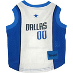 View Image 1 of Dallas Mavericks Dog Jersey