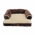 View Image 2 of Davenport Dog Bed by Puppia - Brown