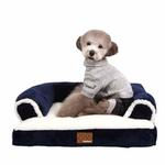 View Image 1 of Davenport Dog Bed by Puppia - Navy