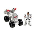 DC Super Friends Toys - Hero World Cyborg ATV