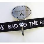 View Image 1 of Decorative Leash Hook - Bad to the Bone