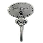 View Image 1 of Decorative Leash Hook - Best Friend