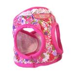View Image 2 of Designer Choke-Free Step-In Dog Harness - Fandango Floral and Lace