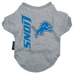 View Image 1 of Detroit Lions Dog T-Shirt