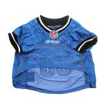 View Image 4 of Detroit Lions Officially Licensed Dog Jersey - Black and White Trim