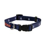 View Image 1 of Detroit Tigers Baseball Printed Dog Collar