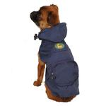 View Image 1 of Dino Dog Stowaway Jacket - Navy