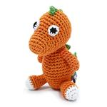 Dinosaur Crochet Dog Toy by Dogo