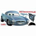 Disney Cars Bedroom Decor - Finn McMissile Giant Wall Decal