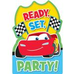 Disney Cars Party Supplies - 1st Birthday Postcard Invitations