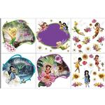 Disney Fairies Bedroom Decor - Tinkerbell & Friends Wall Decorating Kit