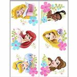 Disney Princess Party Supplies - Temporary Tattoo Favors