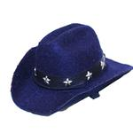 Dog Cowboy Hat - Blue