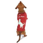 View Image 1 of Dog is Good Aim High Dog T-Shirt - Red