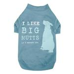 View Image 1 of Dog is Good Big Mutts Dog T-Shirt - Blue
