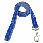 View Image 1 of Dog is Good Bolo Dog Leash - Sky Diver Blue