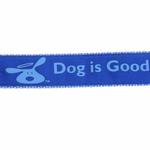 View Image 3 of Dog is Good Bolo Dog Leash - Sky Diver Blue