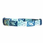 View Image 1 of Dog is Good Halo Dog Collar - Blue