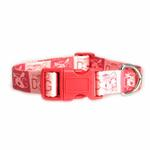 View Image 2 of Dog is Good Halo Dog Collar - Pink