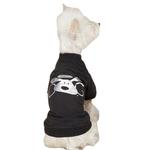 View Image 2 of Dog is Good Halo Dog T-Shirt - Black