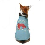 View Image 2 of Dog is Good Make Time for Play Dog T-Shirt - Blue