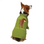 View Image 2 of Dog is Good Worth Doing Dog T-Shirt - Green