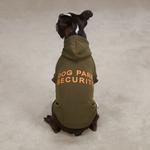 View Image 1 of Dog Park Security Dog Hoodie - Chive