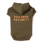 View Image 2 of Dog Park Security Dog Hoodie - Chive