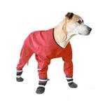 View Image 1 of Muttluks Dog Rainsuit - Red
