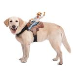 View Image 1 of Dog Riders Harness Halloween Costume - Cowboy