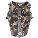 View Image 5 of Doggles Reflective Mesh Vest Harness - Camo/Gray
