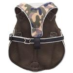 View Image 4 of Doggles Reflective Mesh Vest Harness - Camo/Gray