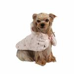 View Image 4 of Doris Hooded Dog Cape by Puppia - Pink