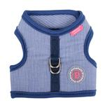 View Image 3 of Downy Pinka Dog Harness by Pinkaholic - Navy