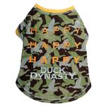 View Image 1 of Duck Dynasty® - Happy, Happy, Happy Dog T-Shirt - Green