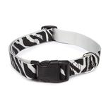 East Side Collection Animal Print Collars - Zebra