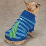 View Image 2 of Christmas Star Dog Sweater - Blue
