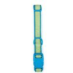 View Image 2 of East Side Collection Gingham Sweetie Dog Collar - Bluebird