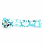 View Image 1 of Hibiscus Cat Collar - Blue