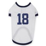 View Image 2 of Leader Of The Pack Dog Football Jersey - White