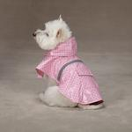 View Image 1 of Polka Dot Rain Jacket - Pink