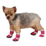 View Image 1 of East Side Collection Sherpa Dog Boot - Raspberry