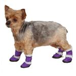 View Image 1 of East Side Collection Sherpa Dog Boot - Ultra Violet