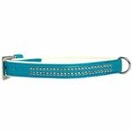 View Image 1 of Sparkle Gemstone Dog Collar - Bluebird