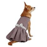 View Image 2 of East Side Collection Teatime Dog Dress - Pink