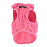 View Image 3 of Elite Hooded Mesh Dog Harness by Puppia - Pink