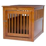 View Image 1 of End Table Dog Crate - Artisan Bronze